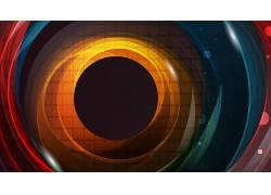 圈,数字艺术,抽象662064