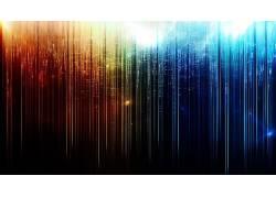 抽象,彩虹,华美,火,冰,数字艺术72145