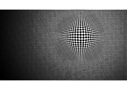 抽象,光学错觉,单色19102