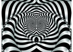 抽象,光学错觉海报