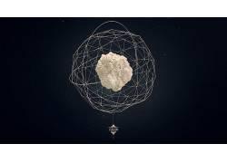 抽象,数字艺术,Lacza,低聚,艺术品32744
