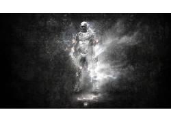 孤岛危机,exosuit,黑色,抽象,nanosuits167633图片