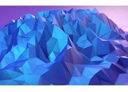 几何,山,抽象,华美,数字艺术652737