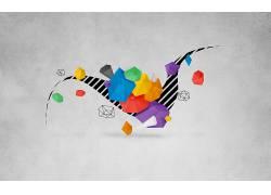 抽象,数字艺术163738