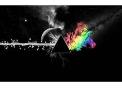 抽象,数字艺术,选择性着色,艺术品,三角形13416
