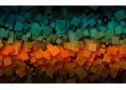 抽象,数字艺术,透视,景深689468