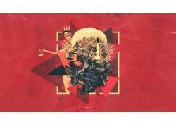 抽象,我美丽的黑暗扭曲的幻想,粉丝艺术538500