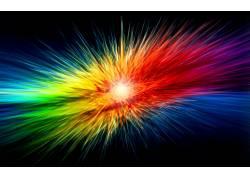 抽象,光谱,华美,数字艺术33316