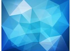 低聚,蓝色,数字艺术,抽象50885