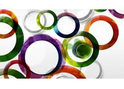 抽象,圈,领域,简单的背景,数字艺术386327