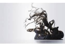 抽象,抽烟,简单的背景,数字艺术32243