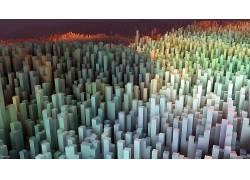 抽象,3D,给予,数字艺术417077