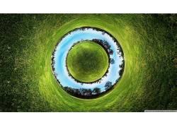 全景球体,性质,圈,抽象176993