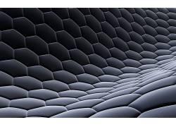 六边形,抽象,数字艺术,纹理,艺术品292