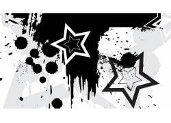 抽象,几何,明星,垃圾443388