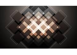 抽象,几何,模式,棕色,数字艺术153239