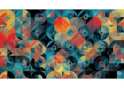 安迪吉尔摩,圈,几何,模式,抽象134420
