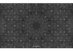 安迪吉尔摩,对称,抽象,单色,几何,模式50076