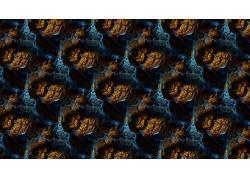 抽象,3D分形,分形,模式,数字艺术614247