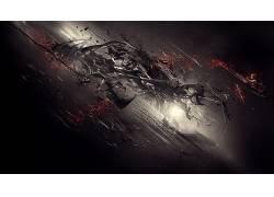 抽象,3D摘要,数字艺术,黑暗581284