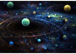 抽象,领域,分形,太空艺术,数字艺术,空间74665