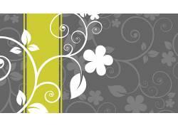 抽象,花的,向量,数字艺术661102