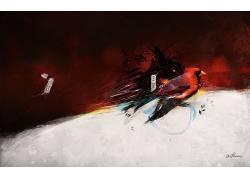 抽象,鸟类448354