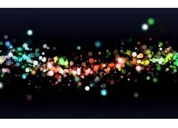 抽象,灯火,数字艺术,背景虚化,华美111497