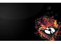 抽象,极简主义,音乐,数字艺术,简单的背景60103图片