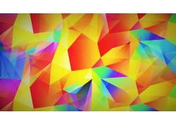 抽象,蓝色,黄色,红,粉,紫色,橙子,华美433855
