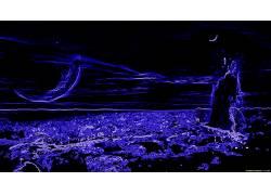 抽象,蓝色153785