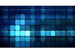 抽象,格,蓝色,质地,数字艺术61380图片