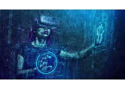抽象,虚拟现实,数字艺术623040