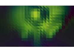 抽象,绿色,数字艺术102307