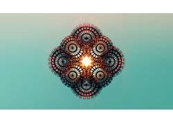 抽象,贾斯汀马勒,面,梯度,数字艺术86838