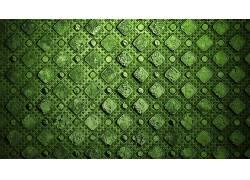 极简主义,抽象,质地,模式,广场,绿色,点177924