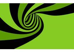 螺旋,矢量艺术,抽象,数字艺术,绿色,黑色15470
