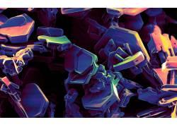 紫色,抽象,数字艺术118195图片