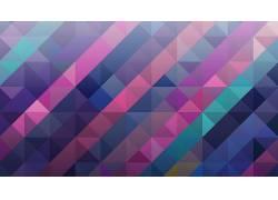数字艺术,极简主义,抽象,模式,几何,三角形,广场,华美,线,镶嵌267