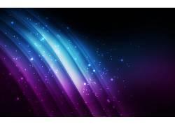 紫色,蓝色,背景虚化,简单,抽象,数字艺术,黑色,华美,形状,波形428
