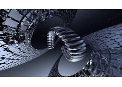 数字艺术,抽象,分形,太空艺术,3D,几何,三维分形503297