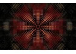 数字艺术,抽象,分形,对称170486