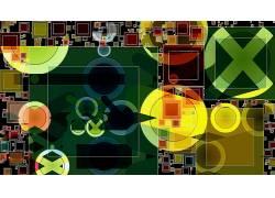 质地,抽象,数字艺术634888