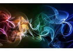 数字艺术,抽象,华美,抽烟,形状32908