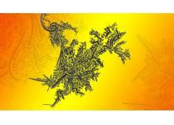 数字艺术,抽象,商标391771