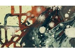 绘画,艺术品,抽象,油漆飞溅338610