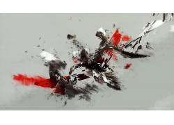 数字艺术,简单的背景,选择性着色,抽象228612图片
