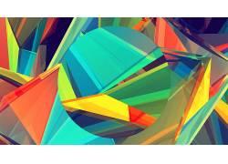 贾斯汀马勒,抽象,数字艺术,材料风格,Android L,模式,极简主义,华