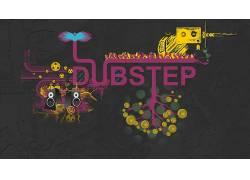 的dubstep,音乐,艺术品,华美,音箱,音频cassete,抽象,数字艺术593