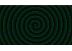 绿色,螺旋,抽象236084